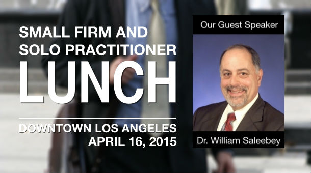 LAIPLA Small Firm and Solo Practitioner Lunch