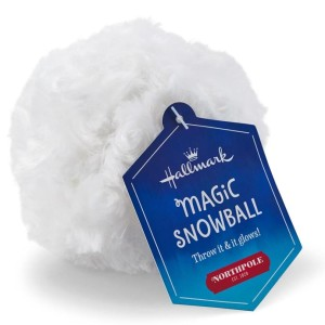 Magic snow ball