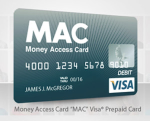 MAC MONEY ACCESS CARD