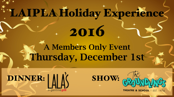 LAIPLA members only annual holiday event in downtown Los Angeles