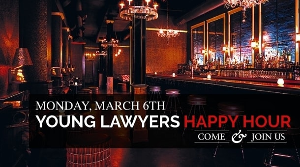LAIPLA Young Lawyers Happy Hour networking event in Los Angeles