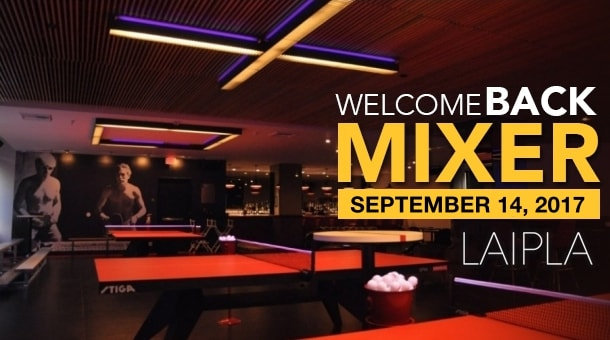 Los Angeles Intellectual Property Law Association welcome back mixer at The Spin in Los Angeles, CA