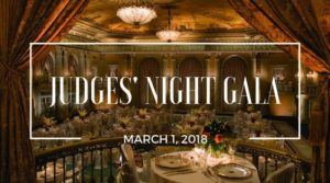 Judges' Night Gala co-sponsored by LAIPLA in Los Angeles