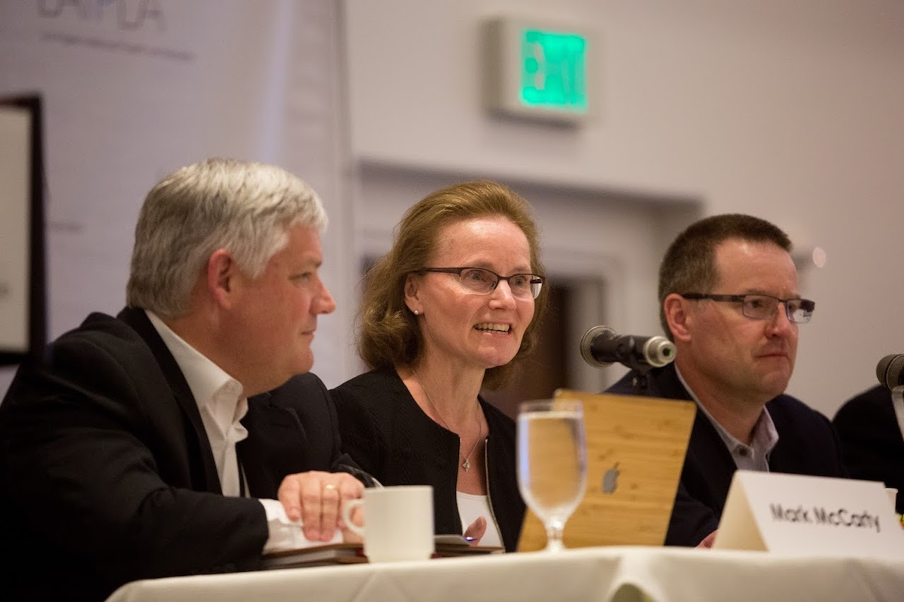 Frand on a panel at the LAIPLA Spring Seminar 2018