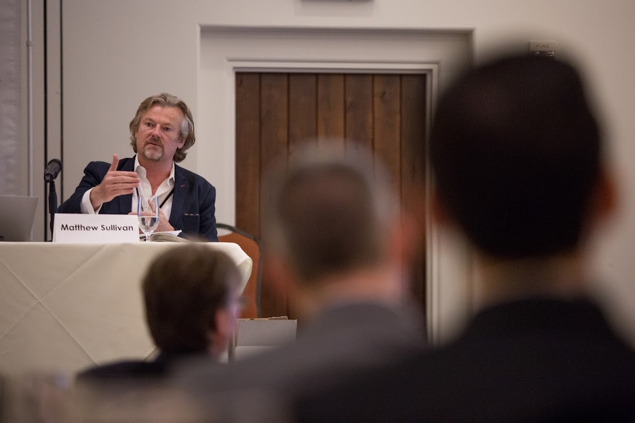 Matthew Sullivan speaking at the LAIPLA Spring Seminar 2018