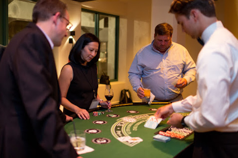 Blackjack table at LAIPLA Spring Seminar 2018