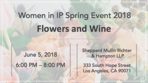 LAIPLA Women in IP Spring Event 2018