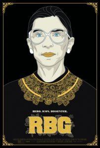 Movie Poster for RBG The Movie