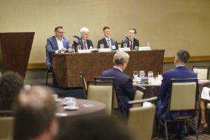 John Cabeca, Michael Fleming, Matt Clements, Robert Taylor: LAIPLA Fall Patent Dinner 2018 Panel