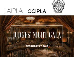 LAIPLA Judges Night Gala, February 27, 2019