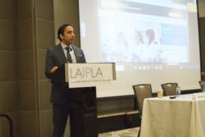 Ashe Puri speaking at Washington in the West 2019