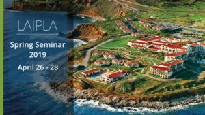 LAIPLA 2019 Spring Seminar., April 26-28.