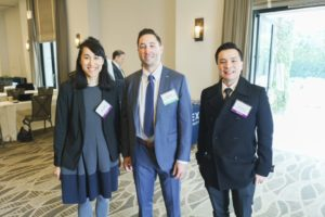 Anya Adams, Hans Mayer, and Tony Kwok of Morrison Foerster at LAIPLA's Washington in the West 2019