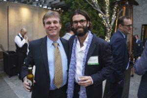 Mark Treitel and Hyperloop One's Adam Lewental at Washington in the West 2019