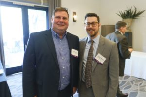 Alan Ritchie and Jonathan Statman, attendees of LAIPLA's Washington in the West 2019