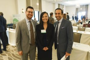 Jonathan Statman, Jean Nguyen and Ashe Puri at LAIPLA's Washington in the West 2019