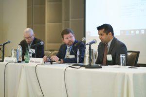 Milan Kapadia speaks on a panel at LAIPLA's Washington in the West 2019