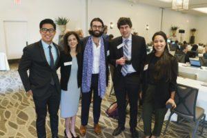 Bita Rahemi, Adam Lewental, Darin Franklin at LAIPLA's Washington in the West 2019