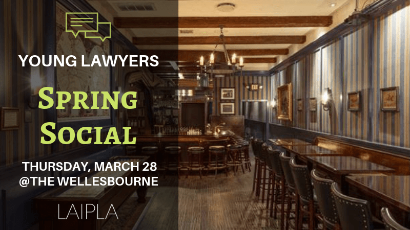 LAIPLA Young Lawyer Spring Social in Los Angeles