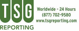 TSG Reporting
