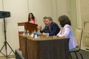 A panel speaks at LAIPLA Spring Seminar 2019