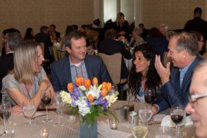 Table talk over dinner at LAIPLA Spring Seminar 2019