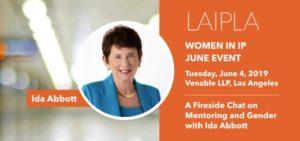 LAIPLA Women in IP June Event featuring Ida Abbott