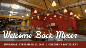 LAIPLA Welcome Back Mixer 2019