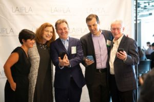 Mikki Kressbach, Claudine Sokol, Mark Treitel, Jason Ablin, and Joseph Hellige at LAIPLA TechTainment™ 5.0