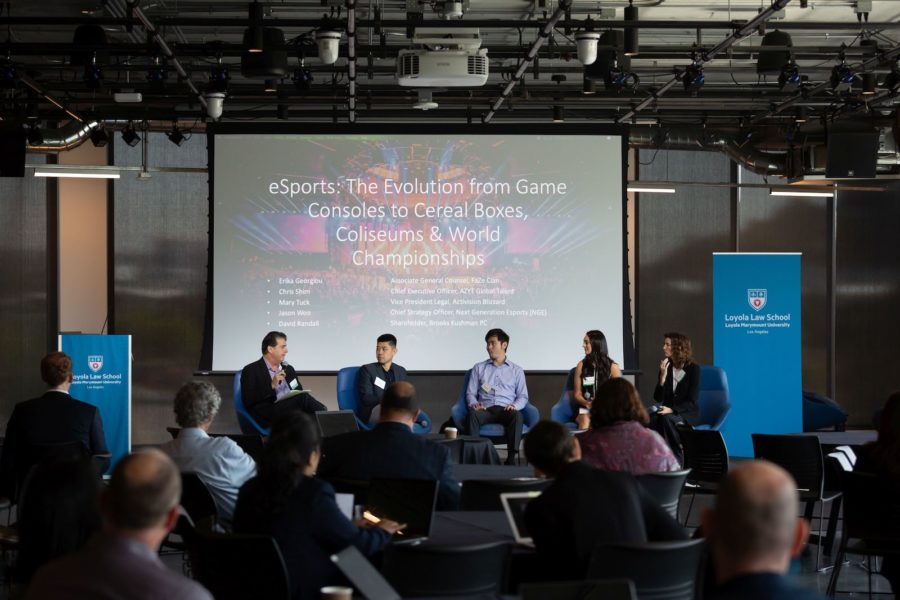 eSports: The Evolution from Game Consoles to Cereal Boxes, Coliseums & World Championships Panel at LAIPLA TechTainment™ 5.0