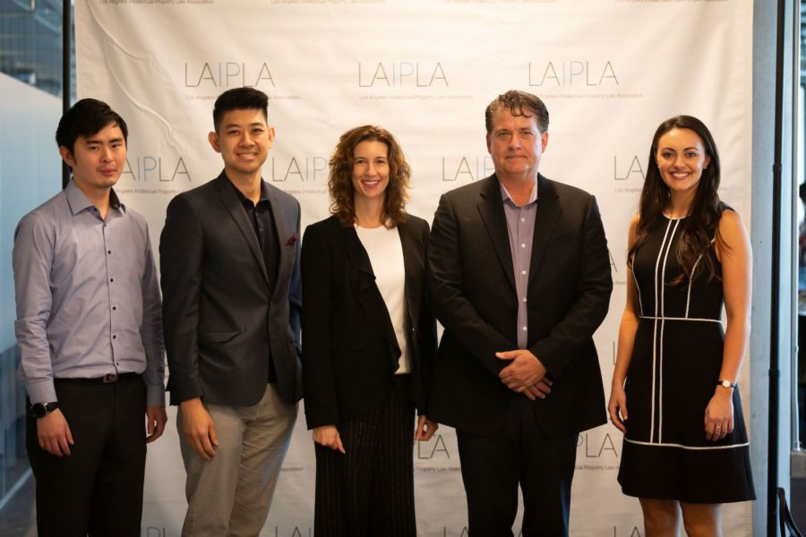 Chris Shim, Jason Woo, Mary Tuck, David Randall, and Erika Georgiou at LAIPLA TechTainment™ 5.0
