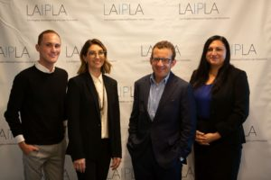 Clint Baisden, Tracey Freed, Jonathan Anschell, and Eva Feder at LAIPLA TechTainment™ 5.0
