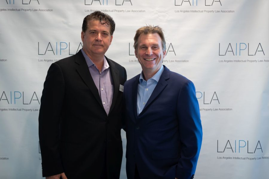 David Randall and Mark Treitel at LAIPLA TechTainment™ 5.0