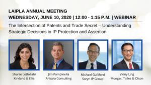 LAIPLA Annual Meeting - Wednesday, June 10, 2020