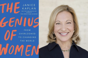 LAIPLA Women in IP Spring 2020 Event: The Genius of Women - Fireside Chat with Author Janice Kaplan. Thursday, June 25, 2020, Webinar.
