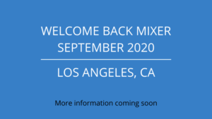 LAIPLA Welcome Back Mixer - September 2020, details TBD