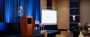 USPTO Director Andrei Iancu gives a Keynote Lunch at Washington in the West 2020.